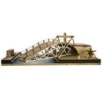 Leonardo da Vinci - Swing Bridge